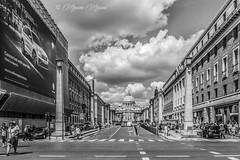 ROMA - San Pietro da Via della Conciliaione (massimo mazzoni 78) Tags: italy roma italia sanpietro pellegrino giubileo