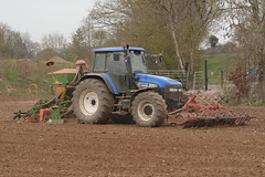 New Holland TM155 Tractor with  a Farm Force Front Press, an Amazone ADP 303 Special Seed Drill & Power Harrow (Shane Casey CK25) Tags: county new blue ireland horse irish plant tractor holland field set work pull hp nikon traktor force power earth farm cork farming working cereal grow machine seed ground nh front special machinery soil dirt till crop crops growing farmer agriculture dust press setting cereals pulling contractor planting sow drill tracteur trator horsepower harrow tilling drilling adp 303 trekker amazone sowing cnh agri newholland tillage cignik traktori killavullen d7100 tm155 casenewholland