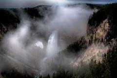 Grand Canyon of the Yellowstone (creativegenius5) Tags: mountains nature landscape waterfalls yellowstone wyoming tetons