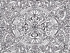 Color Me Tangle (Manurnakey) Tags: postcard doodle handdrawn zentangle zendoodle