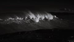 portrait of the sea #2, Murramarang National Park, NSW Australia (P6090437) (colourbycodes) Tags: ocean nature water waves seascapes monotone nsw beaches shoalhaven
