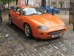 Jaguar XKR G2AWE (Andrew 2.8i) Tags: xkr performance sports car bristol breakfast meet queen queens square avenue drivers club xk sportscar jaguar