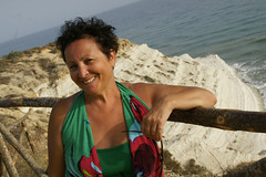 Jole_Scala_dei_Turchi_5137 (Manohar_Auroville) Tags: girls sea italy white beach beauty seaside rocks perspectives special scala sicily luigi dei agrigento fedele turchi scaladeiturchi manohar