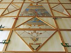 geometries between present and past (ludi_ste) Tags: art stripes museo rivoli geometrie danielburen strisce geometries installazione triangoli