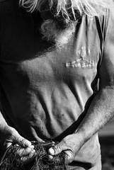 (Qupasa) Tags: closeup sicilia eolie pescatore stromboli capelli rete dettaglio isole ravvicinato bluocean