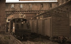 Serving the mill (Jrn Pachl) Tags: leica aviary boxcar deviantart diorama steamengine modelleisenbahn modelrailroad switcher modelrailway modellbahn tabletopphotography leicadlux3 ttscale boardwalkfilter