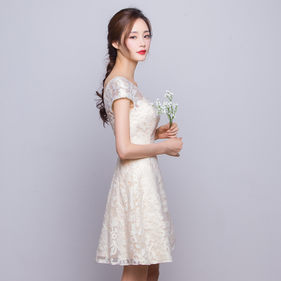 Spring/summer dresses cocktail champagne 2016 new