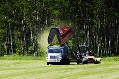Field work faster (hz536n/George Thomas) Tags: summer copyright tractor june rural canon volvo michigan farm canon5d hay upnorth prescott mowing 2016 newholland ogemawcounty cs5 ef300mmf4lisusm
