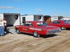 1962 Chevrolet Impala  SS (Bob the Real Deal) Tags: car race oldschool races drags dragraces firebaughca 1962chevroletimpala 1962chevrolet nostalgiadragracing 1962chevy iskycams 1962chevroletimpalass eaglefielddrags eaglefieldrunwaydrags haywardchevrolet