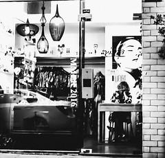 summer 2016 (Ran Elmaliach) Tags: people blackandwhite white black monochrome lines dark photography israel blackwhite background side surreal gr ricoh ricohgr strret ranelmaliach