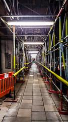 Scaffolding_Knightsbridge_ (joanna reich) Tags: building london architecture construction scaffolding roadworks perspective knightsbridge structure scaffoldingknightsbridge