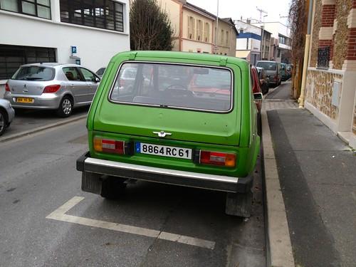 1985 Russian 4x4 Lada Niva 1600