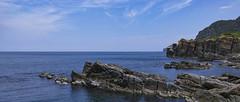 (mrdavidlaw) Tags: blue sea cliff cloud rock clouds landscape seaside horizon 28mm wide sigma wave coastal  reef cloudscape  seacoast foveon  dp1 2351 apsc  foveonx3 sigmadp1 sigmadp dp1m dp1merrill sigmadp1merrill sigmadp1m