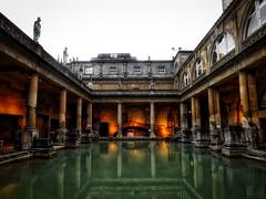 Roman Baths, Bath (Dan O-Holland) Tags: england public water bristol spring bath roman baths bathing spa