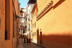 Calle Salinas, Malaga, Andalucia, Espana (claude lina) Tags: claudelina espana spain espagne andalucia andalousie malaga architecture rue street calle callesalinas