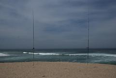 Sea fishing (Paul Rosenhart) Tags: sea beach portugal strand nikon zee vissen fozdoarelho hengels d80 paulrosenhart