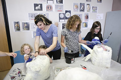 Glynn Vivian Offsite I Opening Parade Workshops (Enjoy Swansea) Tags: art swansea community puppet events families parade activities workshops heroesvillains glynnvivian glynnvivianoffsite zanneandrea