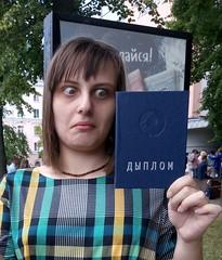 I've seen some ... (xaskixarf) Tags: me university diploma  graduating
