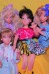 The new you! (Vuffy VonHoof) Tags: new hot girl make look vintage fun photography cool doll neon dolls you pastel over barbie talk retro 80s looks makeover 1980s 90s
