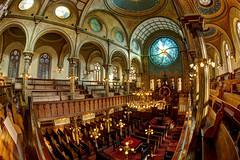 Eldridge Street Synagogue (Tony Shi Photos) Tags:            nowyjork novayork    eldridgestreetsynagogue synagogue eldridgestreet chinatown manhattan nyc newyorkcity newyork ny landmark interior