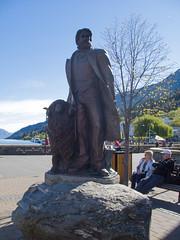 348 - Statue de William Rees(Queenstown)