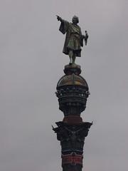 Columbus Monument (Darren-Holes) Tags: columbusmonument barcelona spain monument christophercolumbus columbus point column monumentacolom larambla catalonia bronze corinthiancolumn pedestal plinth lion statue