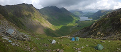 Warnscale Head Bothy / Camp Expedition (Nick Landells) Tags: warnscale warnscalehead warnscalebottom buttermere haystacks highcrag highstile fleetwithpike lake lakedistrict bothy camp expedition camping