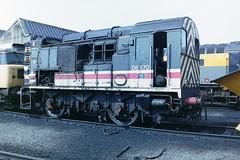 BRITISH RAIL 08570 (bobbyblack51) Tags: city english electric diesel glasgow class depot british 1992 railways 08 inter 060 livery shunter eastfield 08570