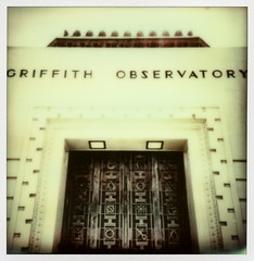 Griffith Observatory (tobysx70) Tags: california ca door toby color film project print polaroid la los lab angeles entrance mini front observatory tip hollywood instant hancock transfer cp griffithpark griffith protection 680 impossible the ipad px colorshade instagram px680 tobyhancock impossaroid