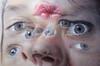 """Painting by Rasim Aksan (Turkey): Paradox, 2011 (Acrylic airbrush on canvas)"" / Galerist / Art Basel Hong Kong 2013 / SML.20130523.6D.14124 (See-ming Lee 李思明 SML) Tags: china urban hk art cn turkey photography hongkong crazy eyes acrylic surrealism events fineart photojournalism canvas creativecommons spraypaint 中国 wtf 城市 香港 hkg journalism hongkongisland 中國 6d wanchai artbasel hyperrealism 摄影 canon1740f4l 攝影 新聞 fav10 2013 新聞攝影 ccby seeminglee canonef1740f4lusm galerist canon6d smlprojects crazyisgood 李思明 smlfineart smluniverse canoneos6d smlphotography smlevents flickrstats:views=10000 abhk sml:projects=crazyisgood fl2fbp sml:projects=photojournalism sml:projects=smlfineart artbaselhongkong2013 rasimaksan"