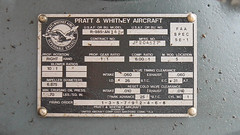 Pratt & Whitney (blazer8696) Tags: usa ford metal airplane tin zoo airport unitedstates connecticut air ct plate goose whitney builders kalamazoo division danbury builder stout 1929 pratt 58 ecw trimotor 5at 2013 dxr kdxr mirybrook t2013 n4819