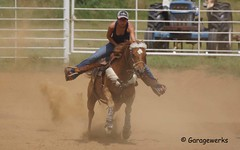 DSC02886a (Garagewerks) Tags: horse oklahoma sport race america cowboy child country barrel american rodeo cowgirl countryliving barrelracing barrelrace