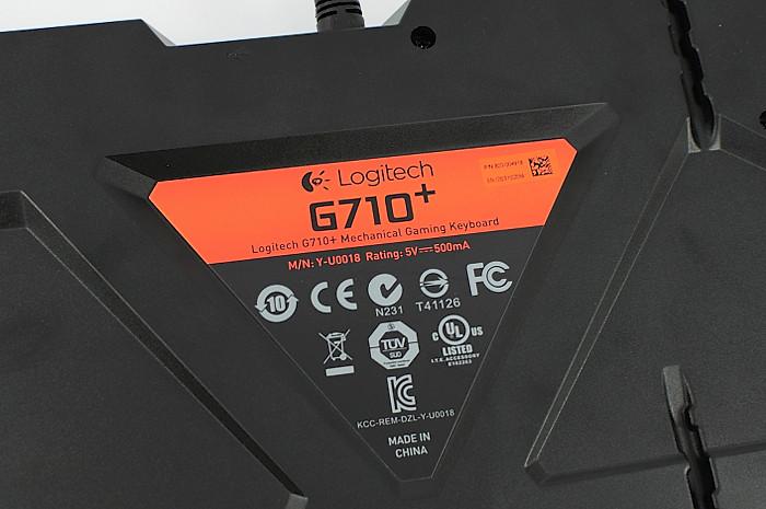 logitech-g710+ 機械式鍵盤 開箱