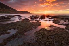 Coalcliff (stevoarnold) Tags: seascape sunrise nationalpark rocks sydney australia nsw newsouthwales royalnationalpark illawarra coalcliff