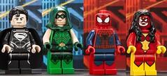 2013 San Diego Comic Con LEGO Superheroes exclusive minifigures (BRICKSmovies) Tags: woman man black green spider san comic lego diego superman arrow dccomics superheroes marvel con marveluniverse 2013 dcuniverse uploaded:by=flickrmobile flickriosapp:filter=nofilter