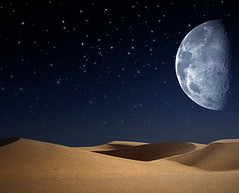 Desert on the night, abstract natural backgrounds (synchronicitycafe) Tags: travel blue light summer sky moon industry nature ecology horizontal illustration night dark season landscape star evening twilight sand desert natural bright outdoor dusk earth background infinity space horizon extreme seasonal environmental dry nobody ukraine pollution drought vista environment glowing relaxation eco