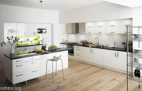 Cozinhas planejadas branca