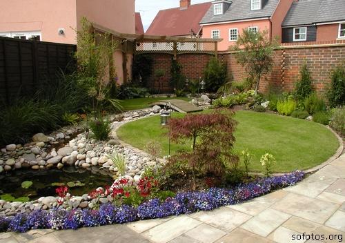 Paisagismo e jardinagem foto