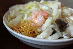 Seafood Crispy Noodle (Amuse * Bouche) Tags: asian chinese queens dumplings flushing amusebouche nanxiangxiaolongbao