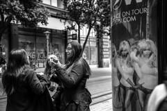 Untitled (dsaravanane) Tags: sanfrancisco california street ladies bw woman usa shop america shopping women sfo walk group talking streettalk d800 saravanan nikkor24120mm dsaravanane saravanandhandapani yesdee yesdeephotography
