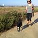Jessica walking Mesa