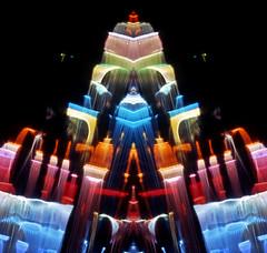 The Citadel (Reciprocity) Tags: city light geometric architecture buildings pattern futuristic lightart reciprocity refractograph luxgeometrica s17116t2