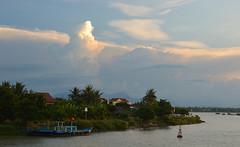 Hoi An (not at her desk) Tags: travel sunset asia cloudy vietnam hoian