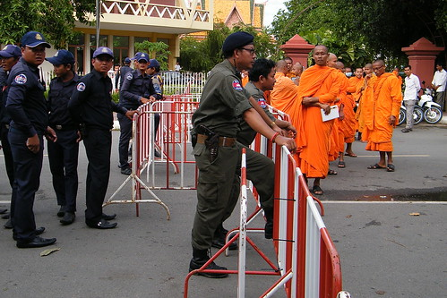 Police & Monks