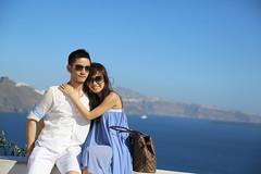 Santorini Love - Day 2-22 (aclassofherown) Tags: trip engagement santorini viet nguyen phan cadao
