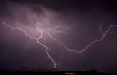 Night Dancer (Steven Maguire Photography) Tags: arizona night landscape monsoon thunderstorm lightning mountians