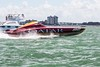 Clearwater Race (Mohmed Althani) Tags: summer sky sun beach water clouds race photo unitedstates florida speedboat bluewater powerboat turbine clearwater topshots spiritofqatar addawhah الادعم الزورق