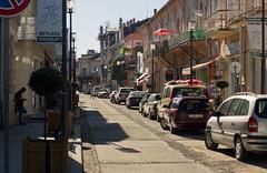 Batumi (Khuroshvili Ilya) Tags: street old shadow urban man streets building architecture canon buildings georgia perspective sakartvelo fasade batumi kaukasus 2013 nvbr nvbr11