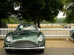 DB4 Zagato (BenGPhotos) Tags: uk england green london classic sports car gardens martin historic celebration british db4 kensington rare supercar aston zagato centenary