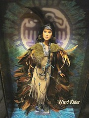 Wind Rider (dog.happy.art) Tags: costume doll native indian barbie nativeamerican collectible mattel collectable windrider